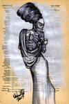 Bride Of Frankenstein Dictionary Art