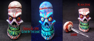 Bone Daddy 14mm Dome and Dabber Set 1 by Undead-Art