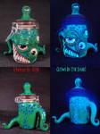 Chaos Demon Stash Jar by Undead Ed 1