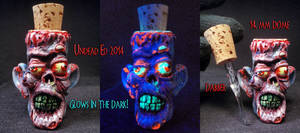 Corky The Zombie 14mm Dome and Dabber Set by Undea by Undead-Art