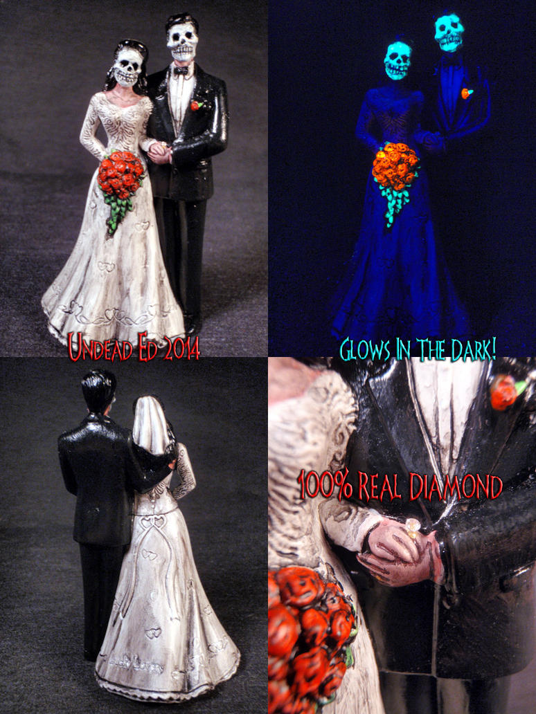 Day Of The Dead Wedding Cake Topper 1 by Undead-Art on DeviantArt