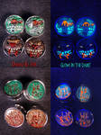 Madballs Wolf Breath and Lock Lips 7-8 Gauges