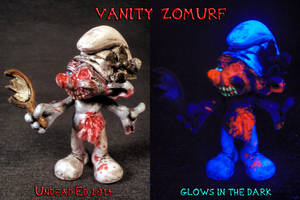 Vanity Zomurf By Undead Ed Glows in the Dark 1 by Undead-Art