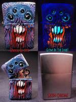 Night Creeper Zippo by Undead-Art