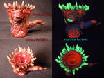 Undead Ancient Chaos 18mm Flower Female Slide by U