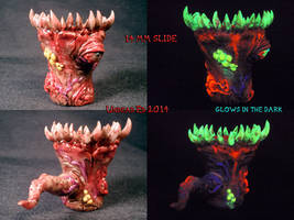 Undead Ancient Chaos 18mm Flower Female Slide by U by Undead-Art