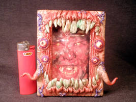 Chaos Rot Frame 4x6 inches by Undead ED Flesh Styl by Undead-Art