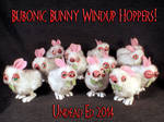 Bubonic Bunny Windup Hoppers by Undead Ed 1