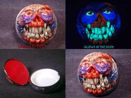 Zombie Pill Case by Undead-Art