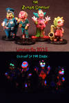 Zombie Simpsons by Undead Ed Glows in the Dark 3