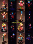 Zombie Simpsons by Undead Ed Glows in the Dark 5