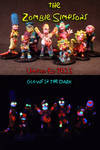 Zombie Simpsons by Undead Ed Glows in the Dark ETS