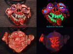 Zomboy Pendant by Undead Ed Glows in the Dark 1