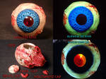 Madball Oculus Orbos Pipe by Undead Ed Glows in th