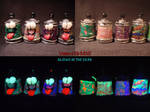 10 Plasma Spray Cans by Undead Ed Glows in the Dar