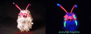 Alien Bunny Hopper by Undead Ed Glows in the Dark  by Undead-Art