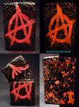 Anarchy Zippo by Undead Ed Glows in the Dark 1
