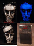 Carnival Of Souls Zippo by Undead Ed Glows in the