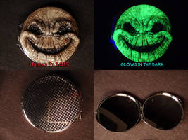 Oogie Boogie Compact by Undead Ed Glows in the Dar by Undead-Art