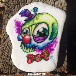 Clown Skull by Undead Ed