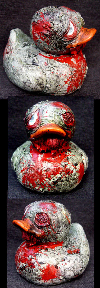 ROT TOT Special Decaying Duck by Undead-Art