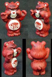 ROT TOT Killer Care Bear BLOOD by Undead-Art