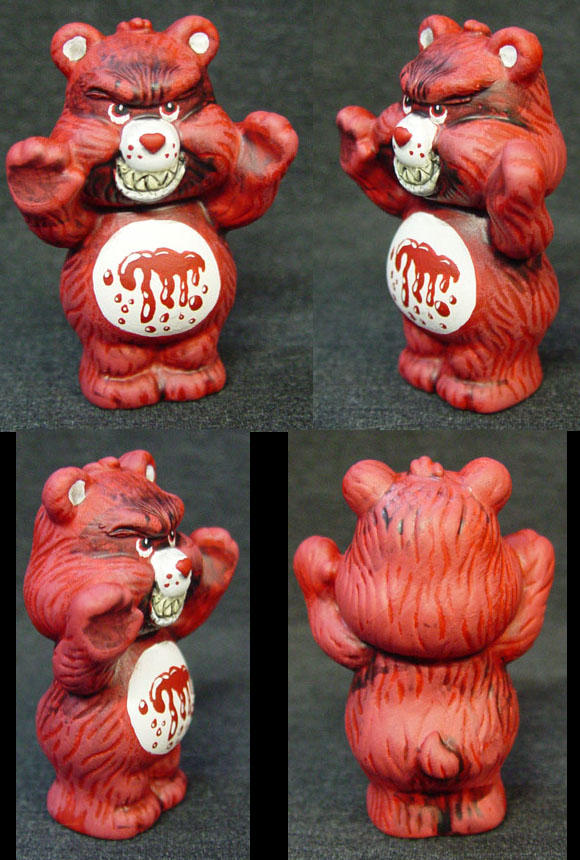 ROT TOT Killer Care Bear BLOOD by Undead-Art