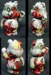 Killer Care Bear 'Zombie Bear' by Undead-Art