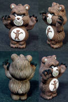 Killer Care Bears 'Grizzly' by Undead-Art