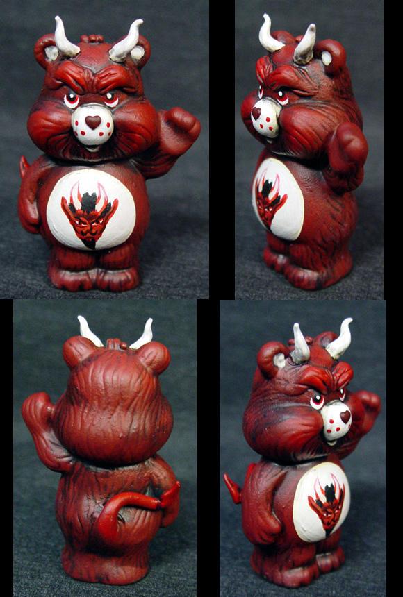 "Killer Care Bears ""Demon"" by Undead-Art"
