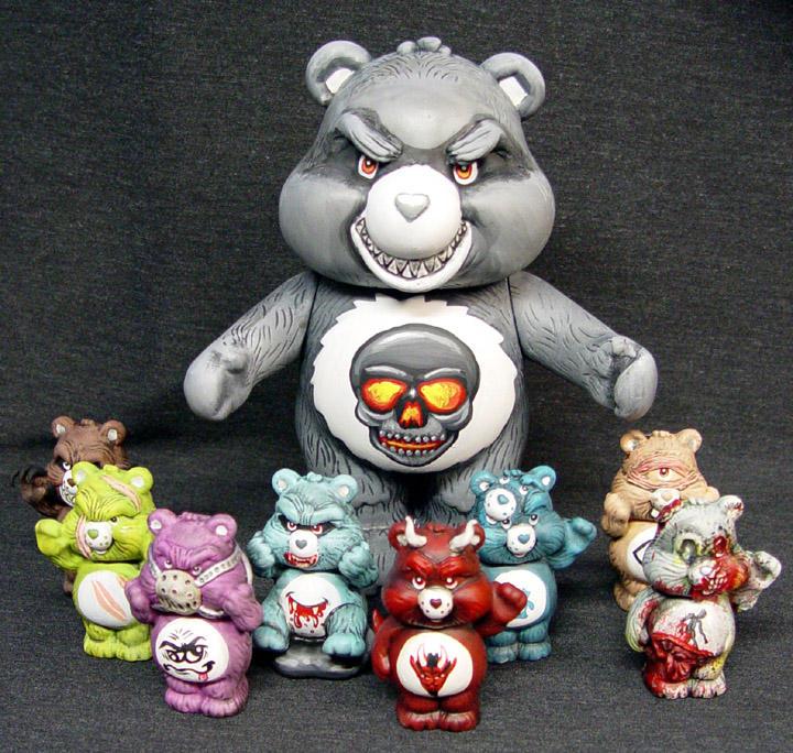 Killer Care Bear Family 1 by Undead-Art