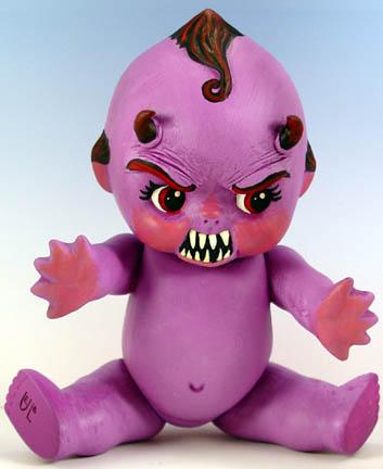 Evil Kewpie Doll by Undead-Art