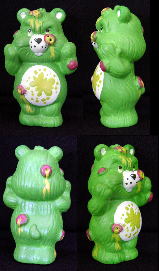 Killer Care Bear PUSS BEAR by Undead-Art