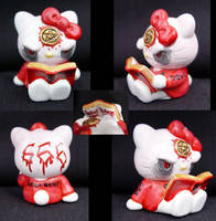 Satanic Hello Kitty by Undead-Art