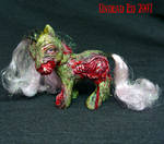 My little ZOMBIE Pony  OOak
