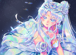 [Fan Art] Sailor Moon Redraw - Queen Serenity by Teikuyo