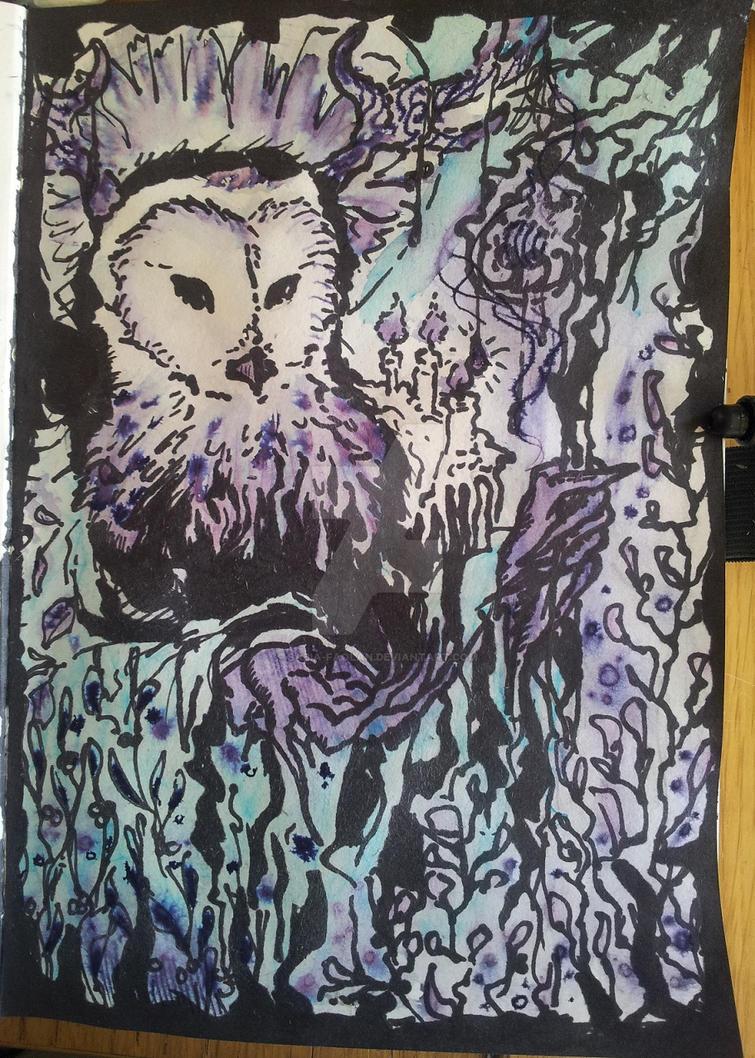 Owl Spirit by Sabia-Faolan