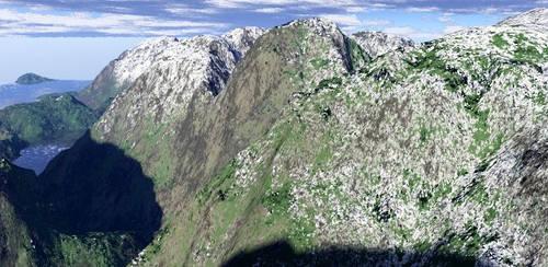 Ice Mountains by whitetigerx