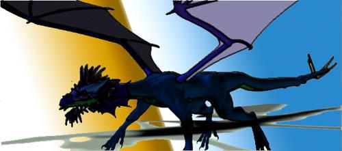 Wierd Dragon by whitetigerx