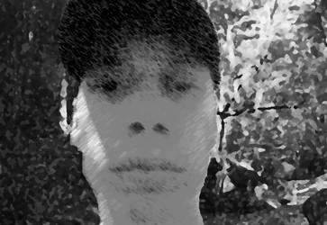 Boy in Forest by whitetigerx