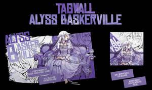( TAGWALL ) ALICE BASKERVILLE , PANDORA HEARTS