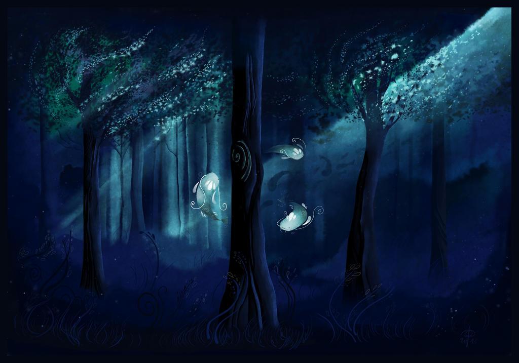 Underwater Forest by Carpe-polie
