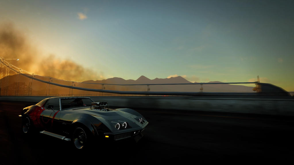 The Crew Chevrolet Corvette C3 Wallpaper by wingsofjusticeYT on