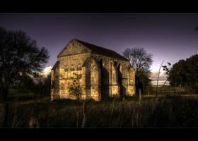 Abbaye abandonnee by Ptitlu60