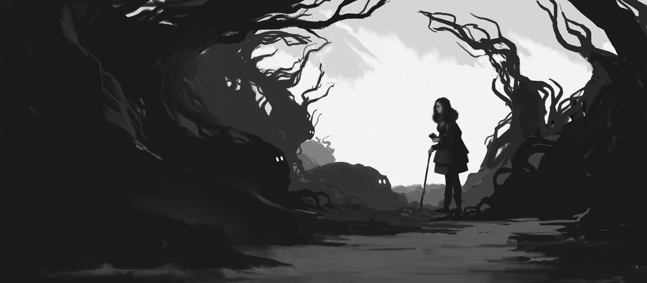 Daily Sketch 968 by GhostlyCarrot