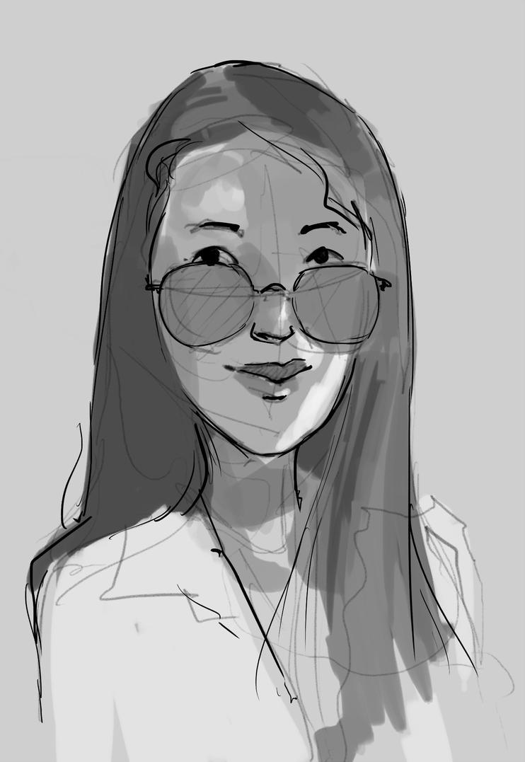 Daily Sketch 970 by GhostlyCarrot