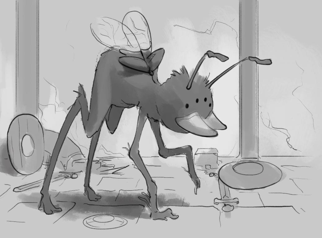 Daily Sketch 972 by GhostlyCarrot