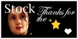 Stock Thanks for the star fav white heart