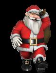 3D Render 21 - Santa 2