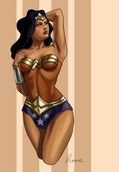 Wonder Woman by Denae
